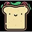 :Ikony jedzenie kanapka: