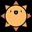 :Ikony pogoda słońce: