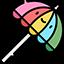 :Ikony przedmioty parasol: