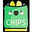 :Ikony słodycze chipsy: