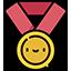 :Ikony wygryw medal: